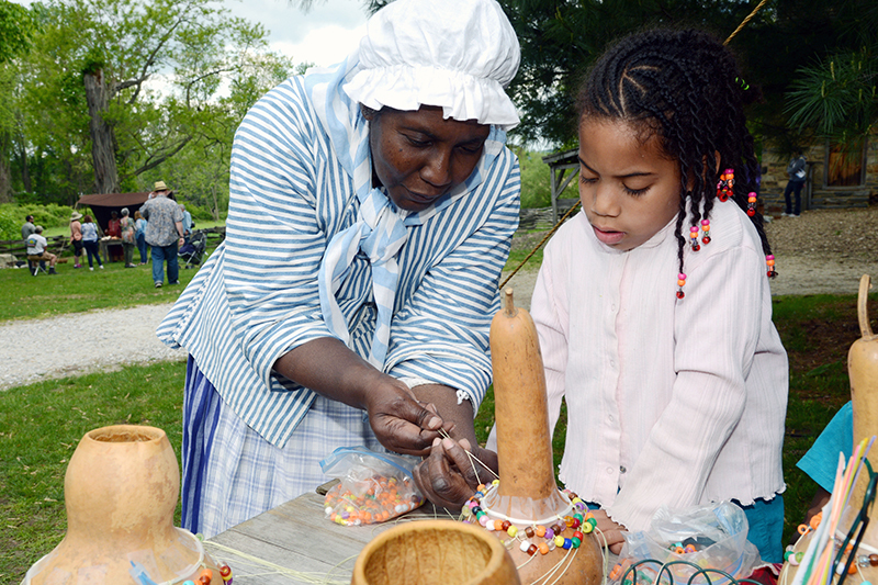 Modern-day celebration of the Pinkster holiday by black people in Hudson Valley New York.