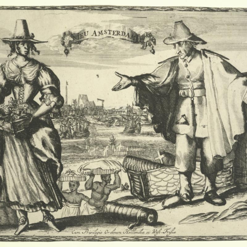 Print of New Amsterdam