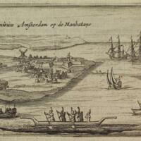 T'Fort Nieuw Amsterdam op de Manhatans.jpg